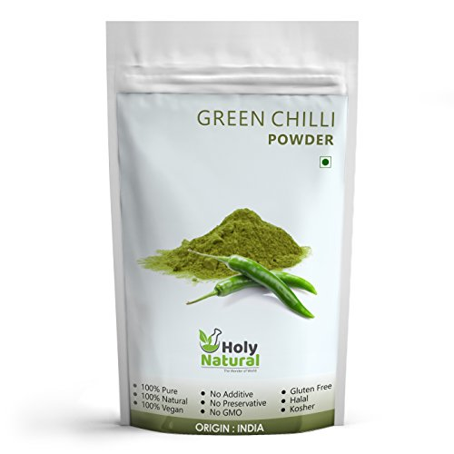 Green Chilli Powder – 100 GM by Holy Natural