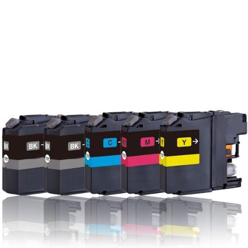 5 Druckerpatronen kompatibel zu LC221/LC223/LC225/LC227/LC229 mit Chip (für BROTHER DCP-J4120DW, J562DW, MFC-J1100, J1140W, J1150DW, J1170DW, J1180DWT, J4420DW, J4425DW, J4620DW, J4625DW, J480DW, J5320DW, J5600, J5620DW, J5625DW, J5720DW, J680DW, J880DW)