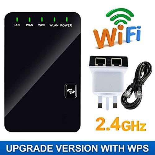 Wifi Range Extender - Reapter N300 / Wlan-Repeater/Internet-SignalverstäRker, Ap An Der Wand, Client, Repeater, Bridge, Router, FüNf Betriebsmodi (Neues Upgrade)