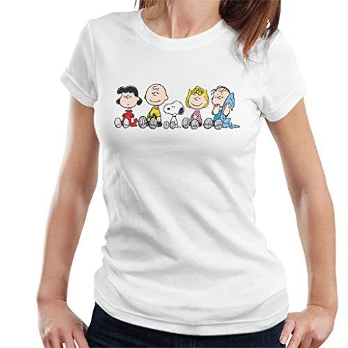 Peanuts The Gang Sit Down Women's T-Shirt -