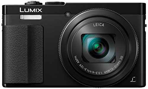 Panasonic DMC-TZ70EG-K Lumix Fotocamera Digitale, Sensore MOS 12.1 Mp, Zoom Ottico 30x, Video Full HD, Nero