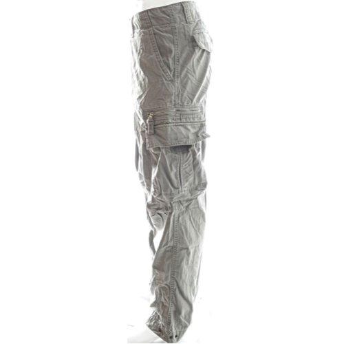 Sizeups Cargohose für Herren 52008 - 100% Baumwolle, Premium Qualität Armee-Kampf-Hosen Sonnenuntergangsschattengrau