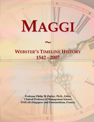maggi-websters-timeline-history-1542-2007