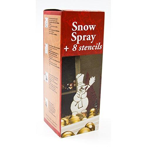 Schneespray 150 ml Dose mit 8 Schablonen