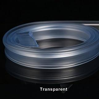 ELEGANT Soft Rubber Shower Screen Seal for Folding Door 1200mm Transparent