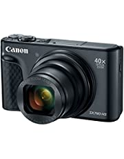 Canon PowerShot SX740 Digital Camera w/40x Optical Zoom and 3 Inch Tilt LCD - 4K Video, Wi-Fi, NFC, Bluetooth Enabled (Black)
