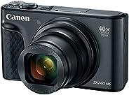 Canon PowerShot SX740 Digital Camera w/40x Optical Zoom & 3 Inch Tilt LCD - 4K VIdeo, Wi-Fi, NFC, Bluetoot