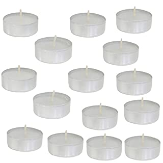 Axentia Tea Lights/Burning Time 100Stk. White 38 MM 4h in Metal Case