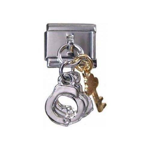 Italian Charms Modul Handschellen mit Schlüsseln (Anhänger) ...by Kult-Schmuck