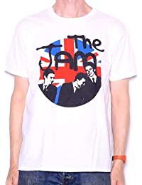 The Jam T Shirt - White Group Target 100% Official Paul Weller