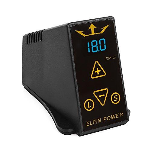 Hommii LCD Digital Pro Tattoo Power Supply Kit w/2Clip Cord &1 Foot Pedal EU