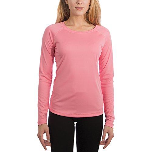 Vapor Apparel Damen UPF 50+ UV Sonnenschutz Langarm Performance T-Shirt X-L Pink Damen-sonnenschutz