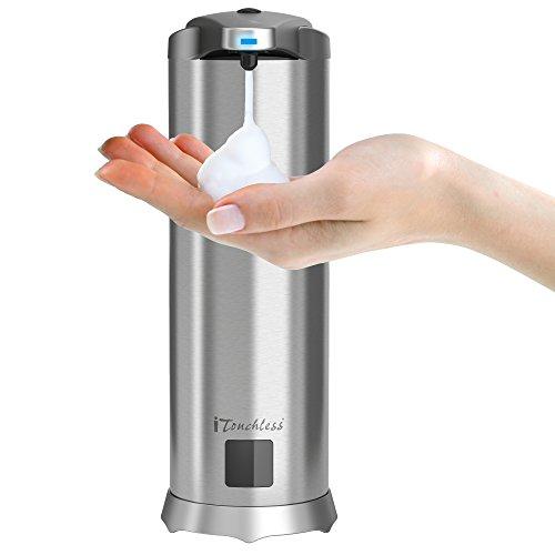 iTouchless Ultraclean Automatischer Sensor Seifenspender aus Edelstahl Dispenser Only -