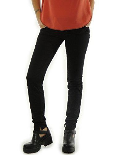 Pantalone donna Meltin Pot cinque tasche nero MARCELL W24-L31