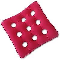 Dbtxwd Aufblasbares Sitzkissen/Medizinisches Luftkissen Breathable/Bequem Für Hintere Steißbein-Unterstützung/Bett-Wunden/Schmerz Entlasten/Rollstuhl-Sitzen