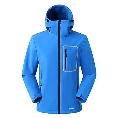 Eono Essentials Men's Softshell Jacket with Fixed Hood von Fashion Flying auf Outdoor Shop