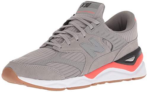 New Balance Herren X-90 Sneaker, Grau (Marblehead/Flame/Black Mf), 43 EU -
