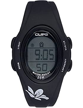 Clips Damen-Armbanduhr Kids 539-1000-44 Digital Quarz