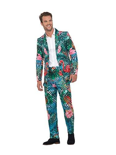 Flamingo Kostüm Männer - Luxuspiraten - Herren Männer Hawaiianischer Tropical