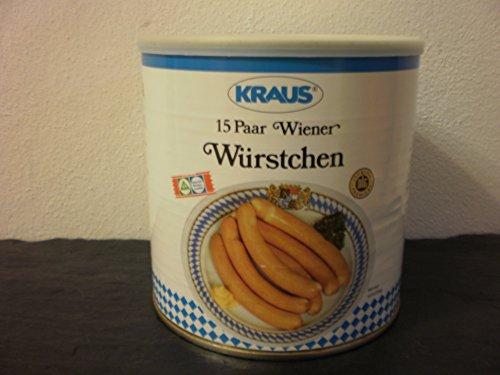 15 Paar Wiener Würstchen vom Metzger keine Industrieware Konserven