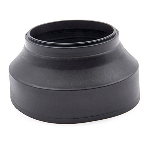 vhbw paraluce flessibile 67mm compatibile con Zeiss Batis 1.8/85 mm, Zeiss Batis 2/25 mm, Zeiss Distagon T* 2/25 obiettivo