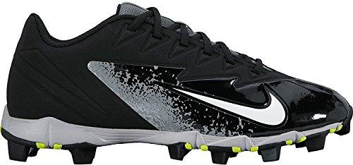 Nike Men's Vapor Ultrafly Keystone Baseball Cleat Black/White/Wolf Grey/Cool Grey Size 9.5 M US (Nike-softball-schuhe)