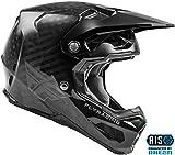 FLy Casco da motocross Racing 2020 Formula, 73-4400L, Carbonio nero, L