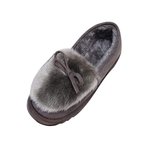 Bottes de Neige Femme,LuckyGirls Mode Nouveau Automne Hiver Femmes Bottes d'hiver Neige Peluche Bottines Chaussures Chaudes Bottes 35-40