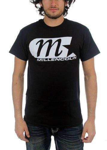 Millencolin - Uomo M Star Classic Logo T-Shirt, X-Large, Nero