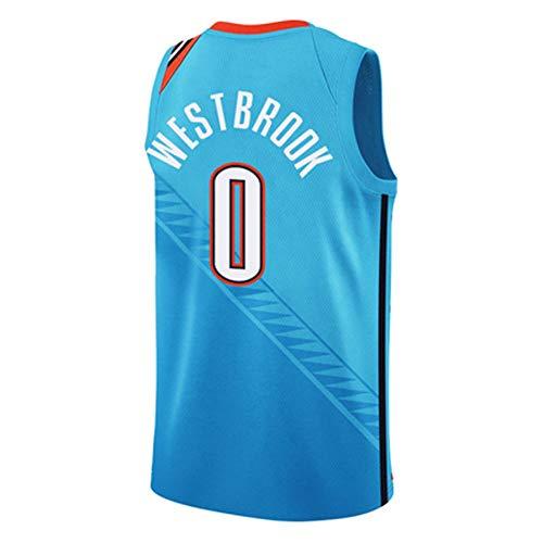 SEYE1° Basketball-Uniform, Basketball-Trainingsanzug, Oklahoma City Thunder, 0, 13, Städtische Version des Trikots