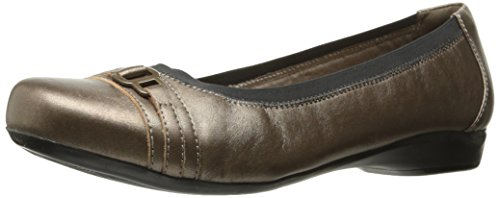 Clarks, Sneaker donna Pewter Leather