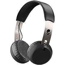 Auriculares de diadema Skullcandy Grind Wireless, negro/cromo