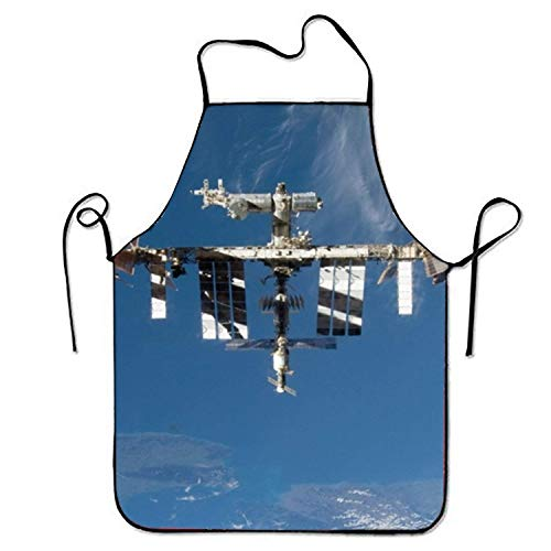 Fs2A1X International Space Station Adjustable Kitchen Cooking Apron for Adult (Cooking-station)