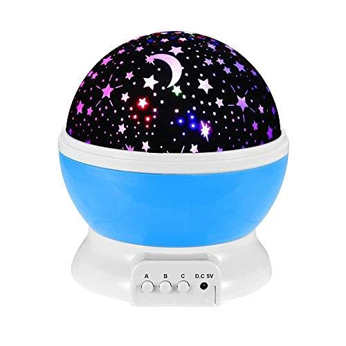 Juguetes para Muchachos de 1 a 12 años, GZMY Proyector de Estrellas Lluminación Nocturna para Niños Juguetes para Niñas de 3-12 Años Regalos de Navidad para Los 3-12 Años de Edad Chicos Chicas