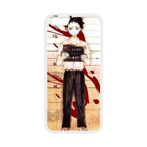 Deadman Wonderland coque iPhone 6 4.7 Inch Housse Blanc téléphone portable couverture de cas coque EBDXJKNBO12710