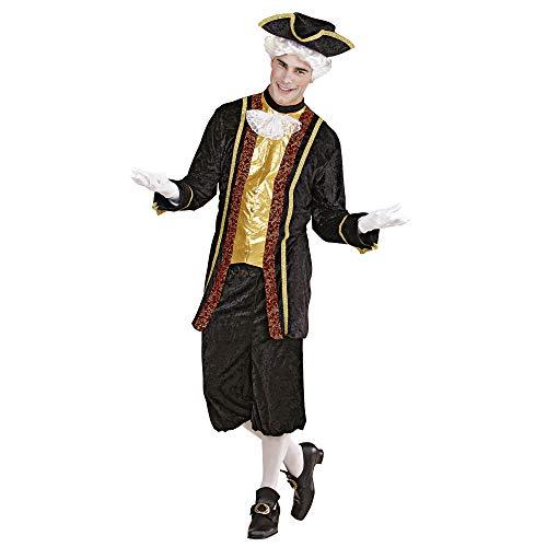 WIDMANN Erwachsenenkostüm Venezianischer - Herren Renaissance Fancy Dress Kostüm