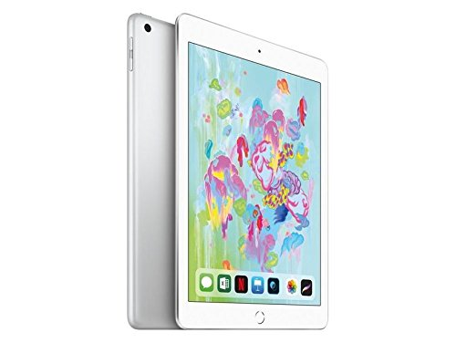 """Apple iPad, 9,7\"""" mit Wifi, 32 GB, 2018, Silber"""