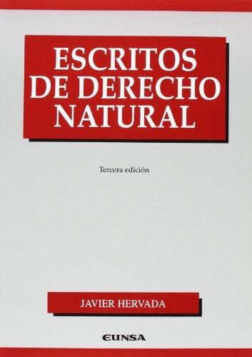 Escritos de derecho natural (Manuales de derecho)