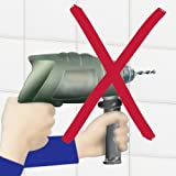 WENKO-5871100-Magic-Loc-kitchen-roll-holder-fixing-without-drilling-Chrome-plated-metal-28-x-9-x-13-cm-Silver-shiny