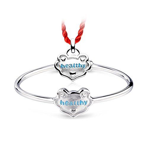 925 Pendentif argent/Changmingsuo enfants Bracelets Colliers/ bébé argent bijoux cadeaux C