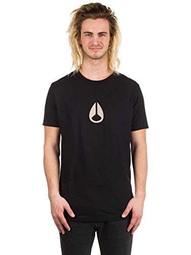Nixon T-shirts - Nixon Wings Ii T-Shirt - Dark Heather Gray Black