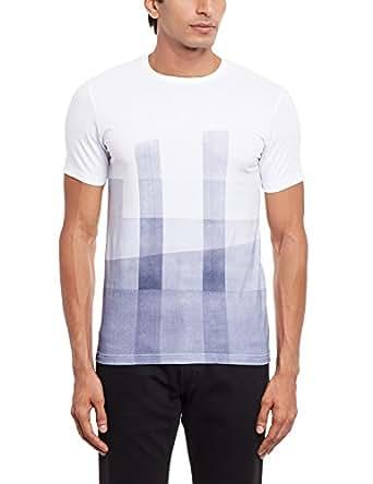 Easies Men's T-Shirt (8907395111415_ETS-400 HSRN JDWHT_XX-Large)