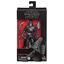 Star Wars The Black Series Knight of Ren Toy 15 cm Scale Star Wars: The Rise of Skywalker Collectible Figure, Children Aged 4 and Up