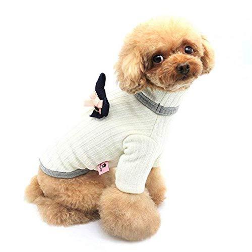 Plus-einlegesohle (YHDD Herbst- und Winterhaustier Dicke warme Reverskleidung, Haustierkatzen und -Hunde Plus Dicker Samtpullover, Einlegesohle aus Bogen, kalte Winterhundehaustierjackejackenweste warme Kleidung)