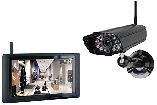 Smartwares digitales Echtzeit-Kamerasystem mit Touchbildschirm, CS89T Pferd Anhänger-Überwachung