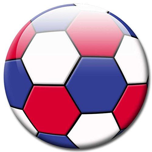 GUMA Magneticum Fußball Fan Magnet Länderflagge Frankreich Ø 5 cm Kühlschrankmagnet mit innovativem Motiv für Magnettafel Pinnwand Magnetpinnwand Memoboard Whiteboard - Original Magnete -