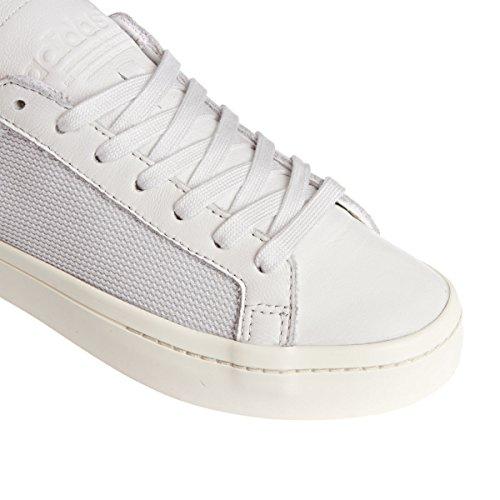 Adidas Court Vantage Uomo Sneaker Bianco vintage white/chalk white/collegiate green