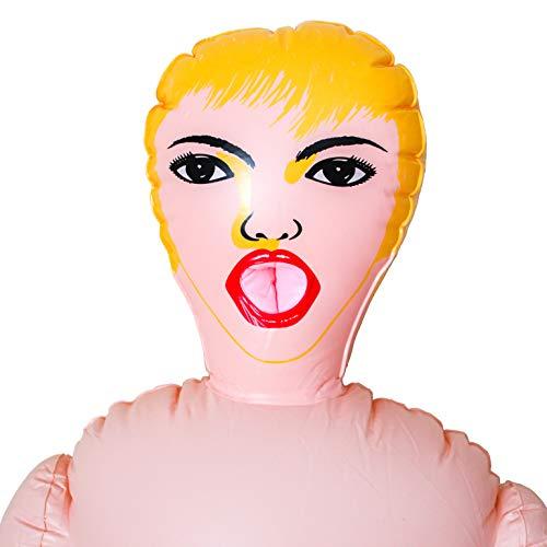 Happy Face - Muñeca Hinchable para Despedidas de Soltero o Fiestas para Hombres. Muñeca Inflable...