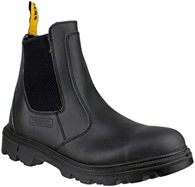 Centek Slip-On Textile Lined Mens Boots - Black - Size 10