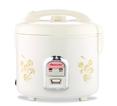 Butterfly Deluxe 3p-001a 1.8-litre 900-watt Electric Rice Cooker (white)